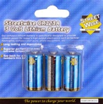 Streetwise CR123A Battery (triple pack)